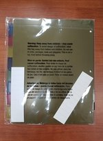 8 TAB COLOR DIVIDERS