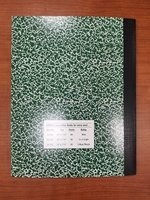 COMPOSITION NOTEBOOK QUAD RULED