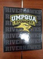 """UMPQUA RIVERHAWKS 2"""" BINDER"""
