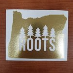 GOLD ROOTS STICKER