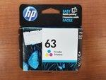 HP 63 INK CARTRIDGE - TRI COLOR