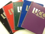 UCC ONE SUBJECT NOTEBOOK ASSORTED COLORS