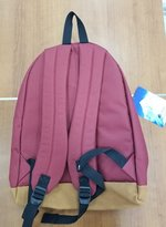 EVEREST SUEDE BOTTOM BACKPACK BURGUNDY